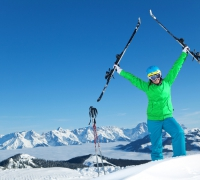 The joy of skiing at Zell am See