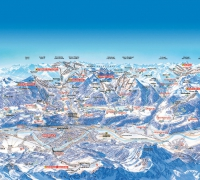 Innsbruck Ski Area Map