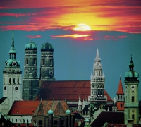 Munich, la capital de Baviera