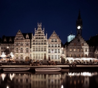 Ghent at night © Visit Gent