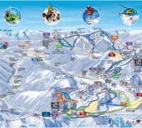 Ski map Vallnord
