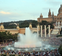 Barcelona and its fountains