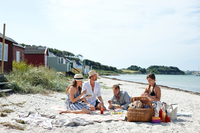 Friends on the Beach VisitDenmark – Denmark Media Center