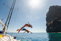Sailing at Los Gigantes