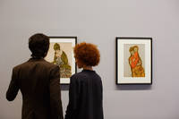 Schiele collection at the Leopold Museum Vienna ©WienTourismus Peter Rigaud